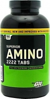 Optimum Nutrition Amino 2222 160 Tablets New