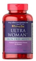 Puritan's Pride Ultra Woman Iron Free Multi 90 Caplets