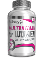 BioTech Multivitamin for Women 60 tablets