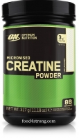 Optimum Nutrition Micronized Creatine Powder (88 serv) 317 g