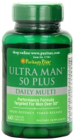 Puritan's Pride Ultra Vita Man 50 Plus 60 Caplets
