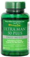 Puritan's Pride Ultra Vita Man 50 Plus 60 Caplets