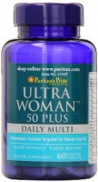 Puritan's Pride Ultra Woman 50 Plus Multi-Vitamin 120 caplets