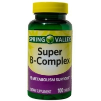 Spring Valley Super B-Complex 100 tab