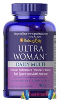 Puritan's Pride Ultra Woman Daily Multi 90 таб