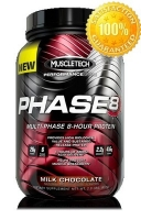 Muscle Tech PHASE 8 907 грамм (2,0 lb)