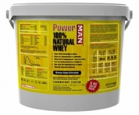 Power men 100 % Natural Whey 5 кг