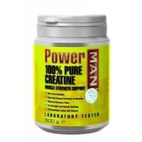 Power men Creatine-Pure 100% 250 грамм