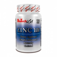BioTech USA  Natural Zinc 100 100 таб