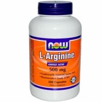 Now L-Arginine 500 мг (250 капс)
