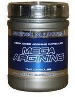 Scitec Nutrition Mega Arginine 140 капс 1300 мг