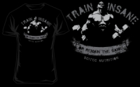 Scitec Nutrition T-shirt Train insane