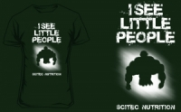 Scitec Nutrition T-shirt I see little people