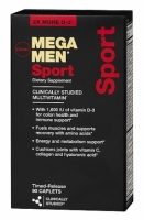 GNC Mega Men Sport 90 каплет