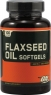Омега Optimum Nutrition Flaxseed Oil 200 капсул