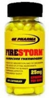 GE PHARMA USA FireStorm 100 капс/25 мг