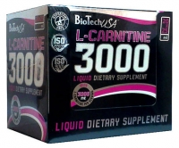 BioTech USA  L-Carnitine ampule 3000 20 амп *25 мл