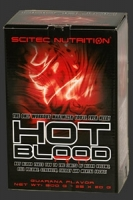 Scitec Nutrition Hot Blood - 25 пакетиков