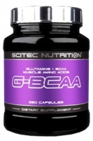 Scitec Nutrition G-BCAA - 250 капсул