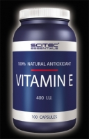 Scitec Nutrition VITAMIN E 100 капсул