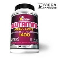 Olimp Labs L-GLUTAMINE MEGA CAPS  30 блистеров по 30 caps