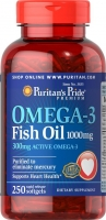 Puritan's Pride Omega 3 (1000 мг) 200 софтгель