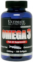 Ultimate Nutrition Omega 3 1000 мг 180 каплет