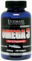 Ultimate Nutrition Omega 3 1000 мг 180 каплет