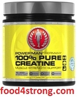 Power men Creatine-Pure 100% 500 грамм