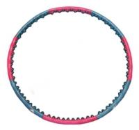 обруч разборной 2ряда шариков,силиконовая основа D=1м;2,2кг