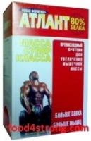 Атлант Протеины НОВАЯ ФОРМУЛА Атлант 80% 1 кг