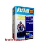 Атлант Протеины 1 кг 80% Атлант + 105г креатин +45г глютамин