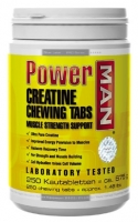 Power men Creatine Chewing 250 Tabs