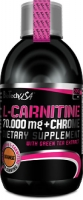BioTech USA  L-Carnitine 70000 liquid + Crome 500 ml