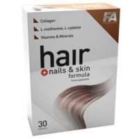 FA Nutrition Hair + Nails & Skin Formula 30 tab