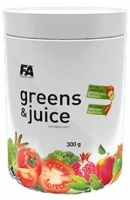 FITNESS AUTHORITY GREENS & JUICE - 300 g