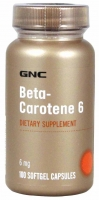 GNS Beta Carotine 6 mg 100 софтгель