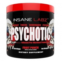 Insane Labz Psychotic 35 порций 220 грамм