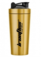 IronFlex Steel Shaker 750ml gold Металлический