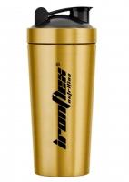 IronFlex Steel Shaker 750ml gold Металлический