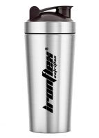 IronFlex Steel Shaker 750ml silver Металлический