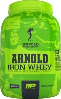 MusclePharm Iron Whey Arnold Series 908 грамм (2 lb)