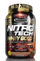 MuscleTech NitroTech Whey Gold 1130 грамм