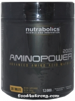 NutraBolics Amino Power 2000 - 325 таб