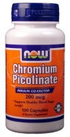 NOW Chromium Picolinate 100 капс