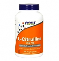NOW L-Citrulline (750 mg) 180 caps