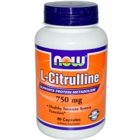 NOW L-Citrulline 750 mg 90 caps