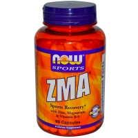 NOW ZMA 800 mg 90 капсул