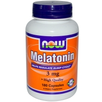 NOW MELATONIN 3 180 капс
