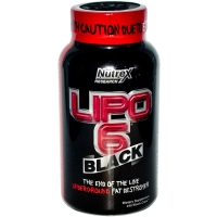 Nutrex LIPO 6 Black 240 капс (Герань)